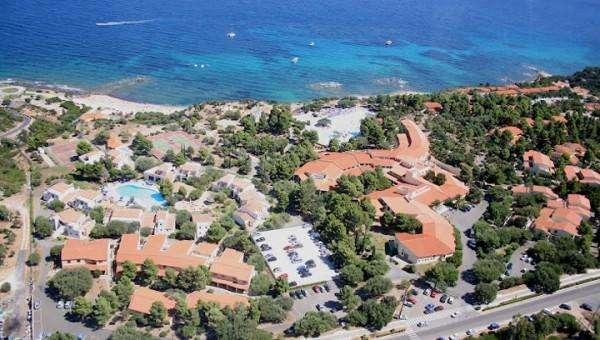Panoramica aerea villaggio