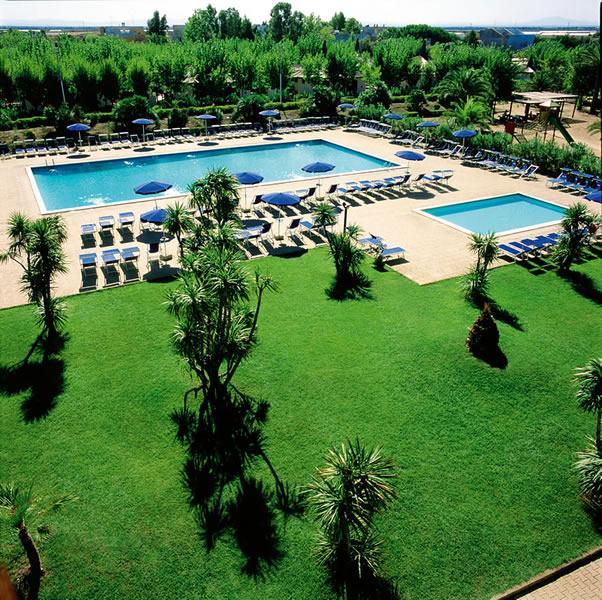 Panoramica esterna piscine