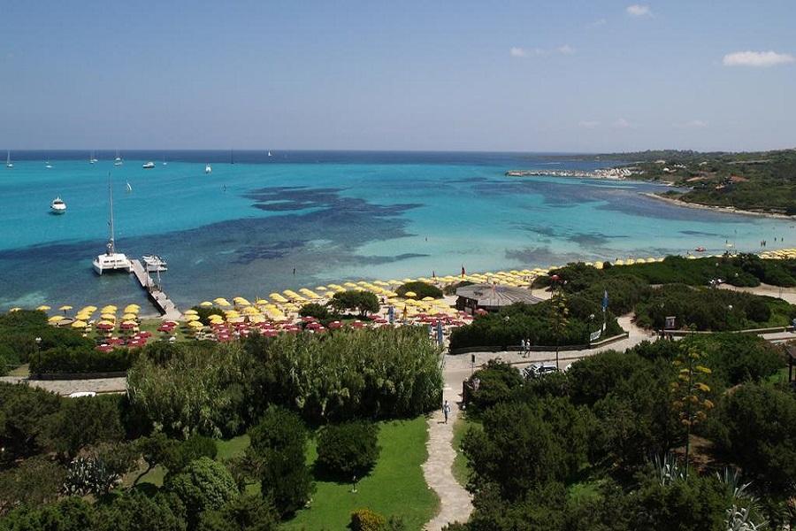 Panoramica vista dall' hotel