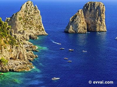 in Ischia e Capri